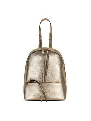 Рюкзак с ручкой Avanzo Daziaro. Цвет: золотистый