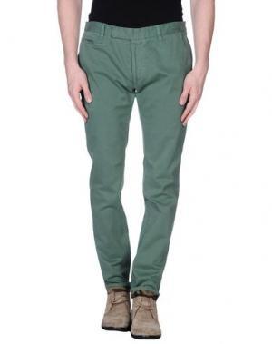 Повседневные брюки G2CHOICE. Цвет: зеленый-милитари