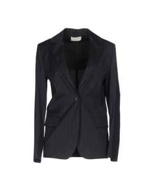Пиджак SONIA DE NISCO. Цвет: темно-синий