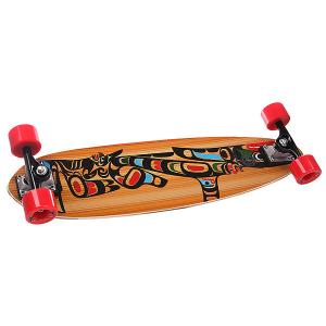 Скейт круизер  Cityflyer 76 Soft Viking Complete Totem Multicolor 8.25 x 30 (76 см) Pumpkin. Цвет: мультиколор