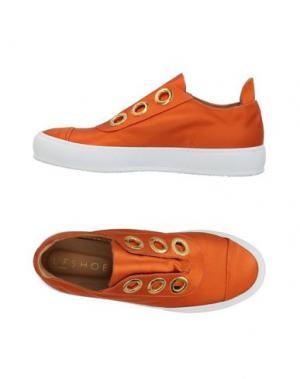 Низкие кеды и кроссовки L'F SHOES. Цвет: оранжевый