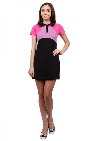 Платье женское  Wd 01 Lilac Trailhead. Цвет: розовый,черный