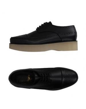 Обувь на шнурках F-TROUPE. Цвет: черный
