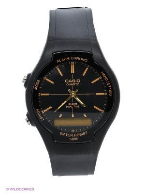 Часы Casio AW-90H-9E. Цвет: черный