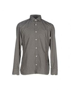 Pубашка GIAMPAOLO. Цвет: зеленый-милитари