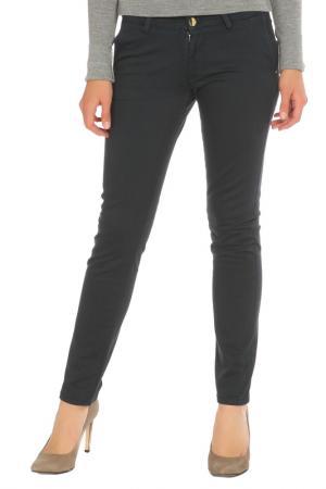 Зауженные брюки с застежкой на молнию Gaudi. Цвет: 2817 темно-синий