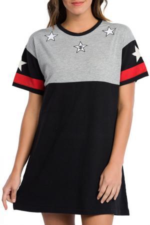 Платье JIMMY SANDERS. Цвет: черный