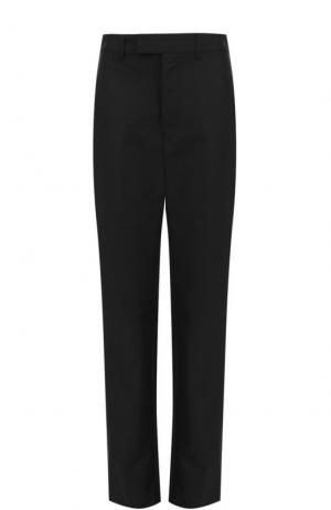 Расклешенные брюки со стрелками и лампасами Balenciaga. Цвет: черный