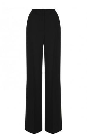 Однотонные расклешенные брюки со стрелками MSGM. Цвет: черный