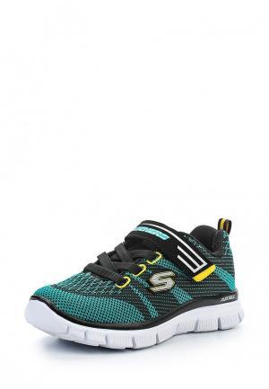 Кроссовки Skechers. Цвет: зеленый