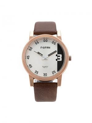 Часы наручные Feifan. Серия Scarface Feifan. Цвет: коричневый