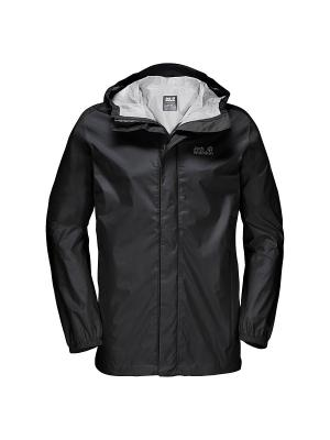 Куртка CLOUDBURST MEN Jack Wolfskin. Цвет: черный