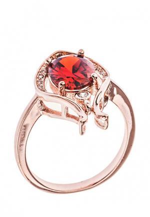 Кольцо Lebedi Crystals. Цвет: разноцветный
