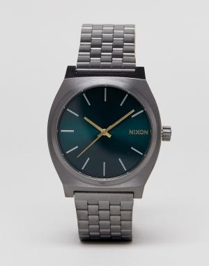 Nixon Часы Glades Time Teller. Цвет: серебряный