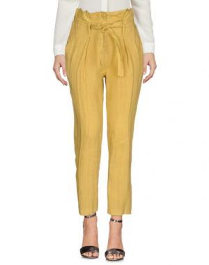 Повседневные брюки GIORGIA & JOHNS. Цвет: охра