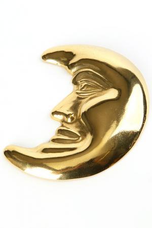 Украшение Луна Stilars. Цвет: золотой