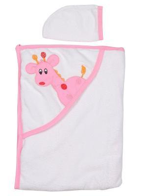 Уголок для купания малыша M-BABY. Цвет: белый, розовый