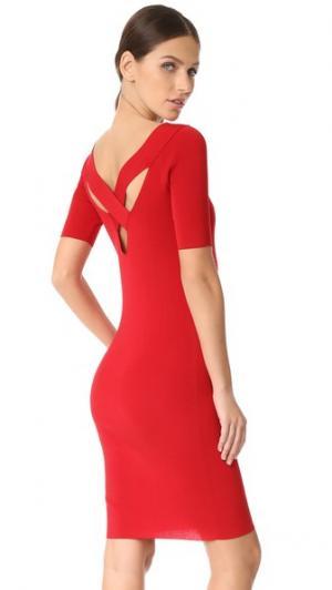 Платье-свитер Edition10. Цвет: томатный