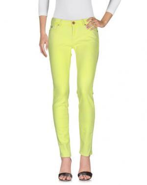 Джинсовые брюки MAISON SCOTCH. Цвет: желтый