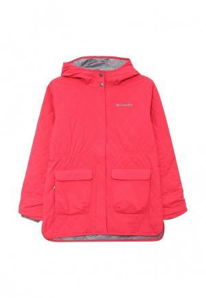 Куртка утепленная Columbia. Цвет: розовый