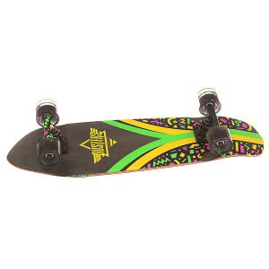 Скейт мини круизер  Flashback Cruiser Fresh 7.9 x 28 (71.1 см) Dusters. Цвет: мультиколор