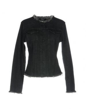 Джинсовая рубашка CYCLE. Цвет: черный