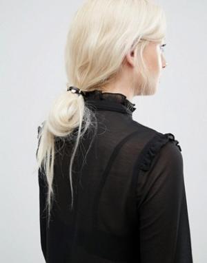 Kitsch Набор резинок для волос из искусственной кожи. Цвет: мульти