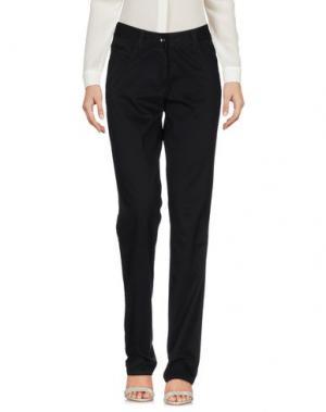 Повседневные брюки GEOX. Цвет: черный