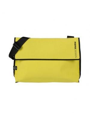 Деловые сумки MOMO DESIGN. Цвет: желтый