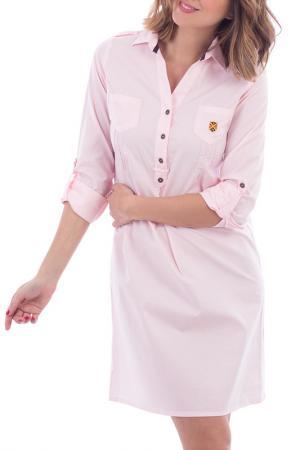 Платье POLO CLUB С.H.A.. Цвет: розовый