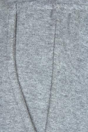 Однотонные брюки il Gufo. Цвет: серый