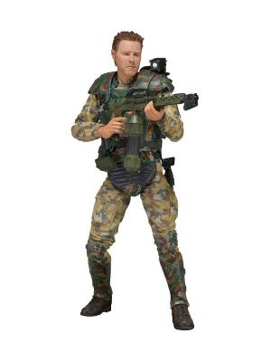 Фигурка Aliens 7 Series 2 - Sgt. Windrix /4шт in Neca. Цвет: хаки