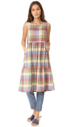 Платье Teasdale ace&jig. Цвет: madras