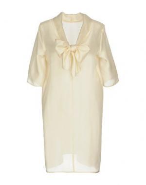 Короткое платье LA FABRIQUE. Цвет: слоновая кость