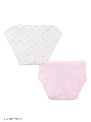 Комплект для новорожденных Luvable Friends. Цвет: розовый, белый