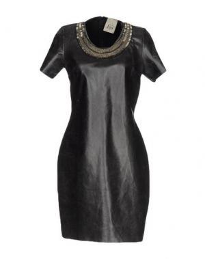 Короткое платье JIJIL. Цвет: стальной серый