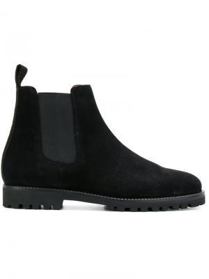 Ботинки-челси Etq.. Цвет: чёрный
