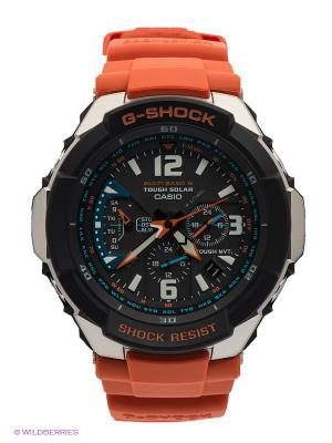 Часы G-SHOCK GW-3000M-4A CASIO. Цвет: оранжевый, черный