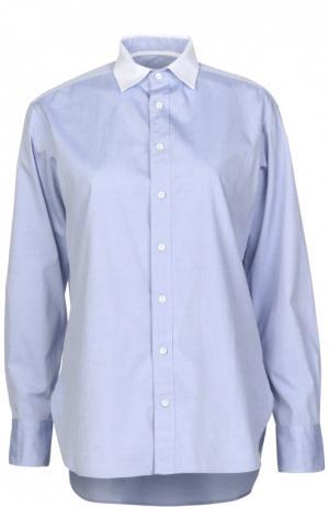 Блуза Rag&Bone. Цвет: синий