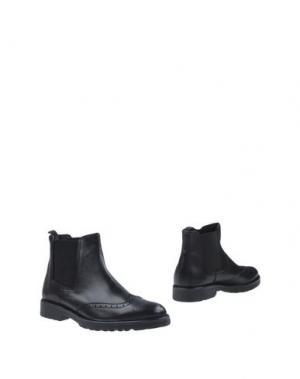 Полусапоги и высокие ботинки BRUNO VERRI. Цвет: черный