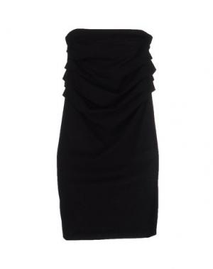 Короткое платье DONNA KARAN. Цвет: черный