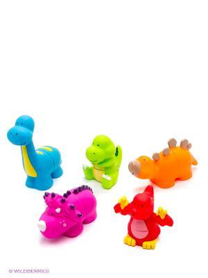 Мир динозавров K'S Kids. Цвет: красный, оранжевый, синий, зеленый