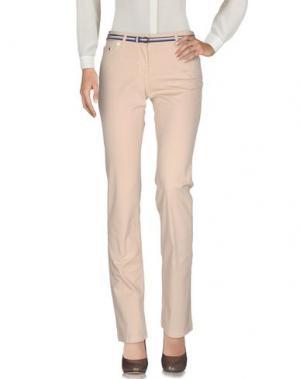 Повседневные брюки FRED PERRY. Цвет: бежевый