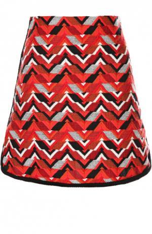 Юбка Giambattista Valli. Цвет: красный