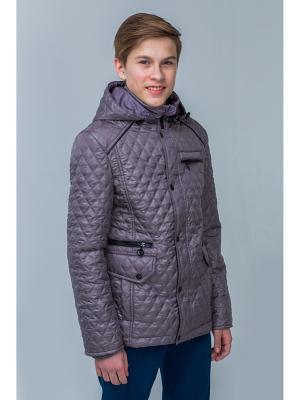 Куртка Пралеска. Цвет: серый