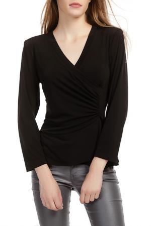 Блуза Georgede. Цвет: черный