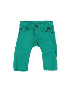 Повседневные брюки IMPS&ELFS. Цвет: зеленый