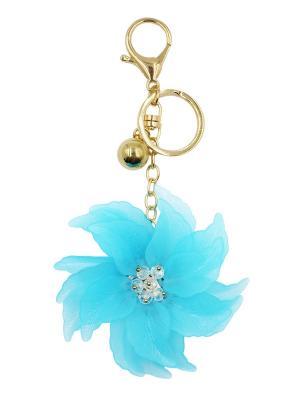Брелок для сумки Taya. Цвет: золотистый, синий