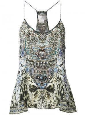 Блузка Hush Camilla. Цвет: многоцветный