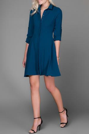 Платье Milla. Цвет: синий
